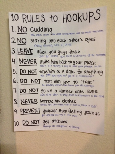 hook up rules