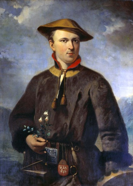 Carolus_Linnaeus_by_Hendrik_Hollander_1853