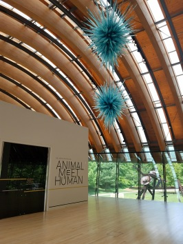 The Crystal Bridges Museum, built by Alice Walton, is a world-class museum of American Art in Bentonville, AR.
